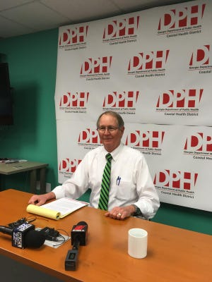 Coastal Health District Director Dr. Lawton Davis