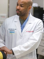 Dr. Jerome Adams, Indiana State Department of Health Commissioner.