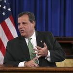 Christie flew to South Carolina on 'Chairman's Flight'