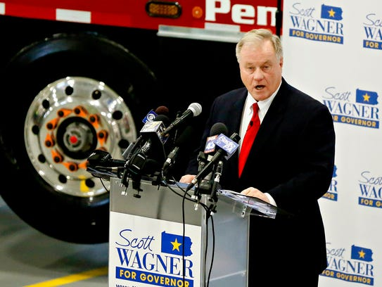 State Sen. Scott Wagner officially announces his intentions