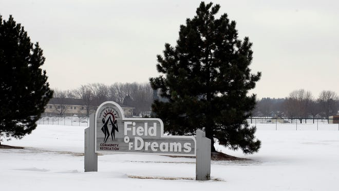 A scene at the Field of Dreams as seen Saturday February 7, 2015 in Sheboygan.