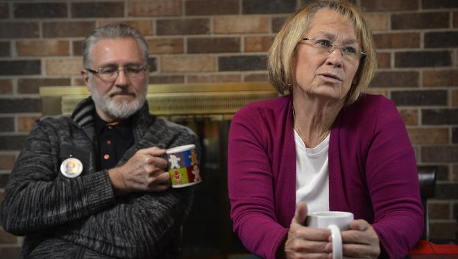 Jerry and Patty Wetterling speak to the Times at their home in St. Joseph last year.
