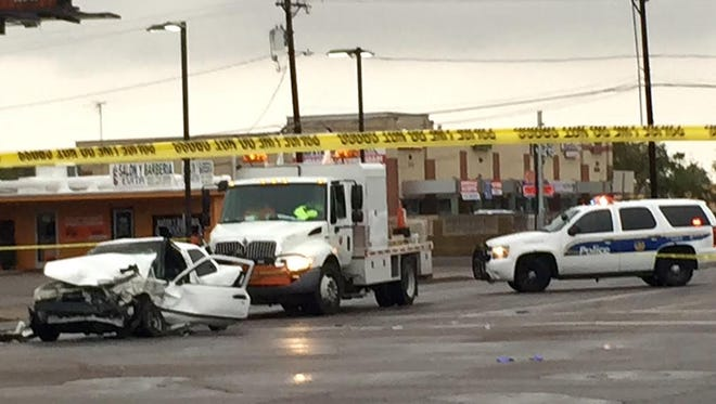 Collision in intersection of 35th Ave and Thomas Road