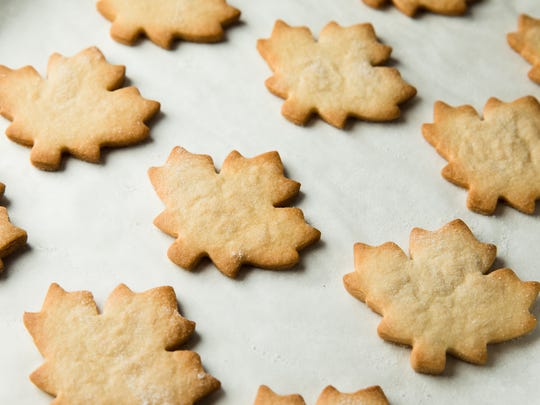 Maple Shortbread Cookies offer a bit of Vermont-inspired flavor.