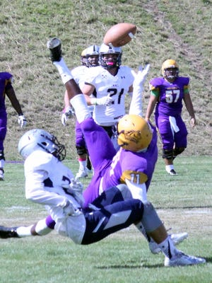 The Western New Mexico University offense stumbled in the first half. The Mustangs scored just three points.