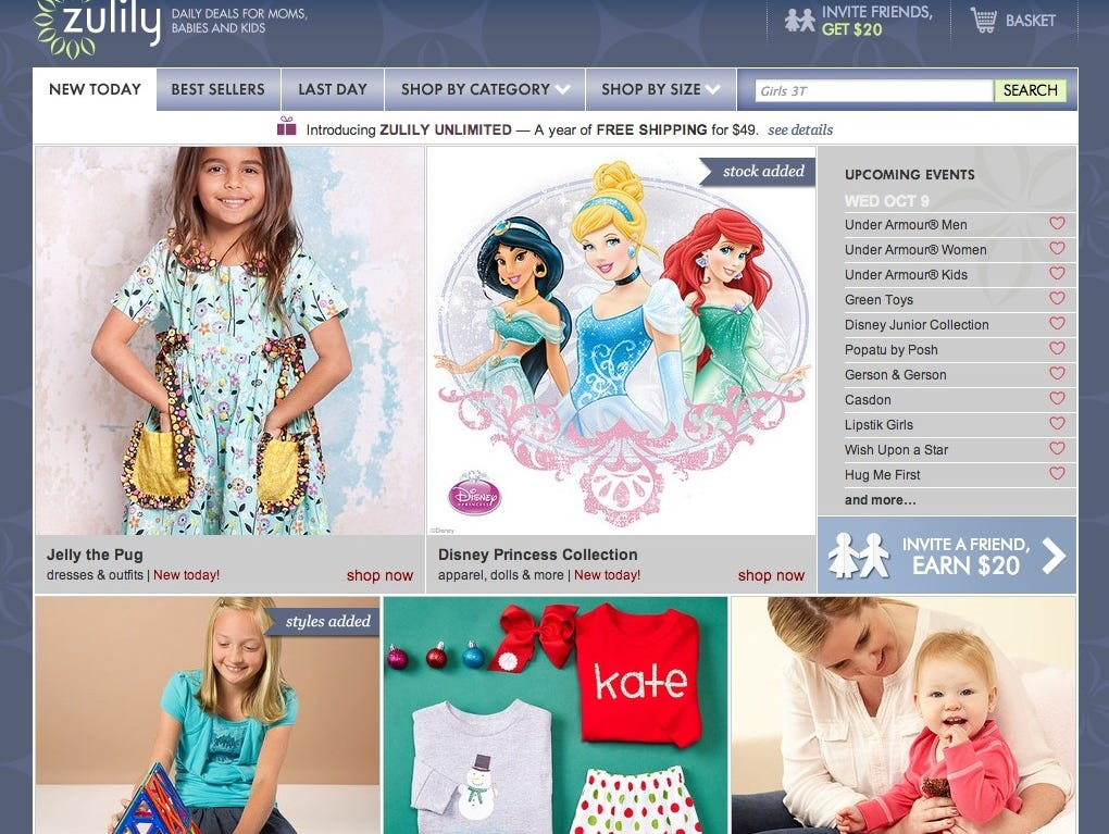 Zulily shares jump after Liberty Interactive announces plans to buy it in $2.4 billion deal