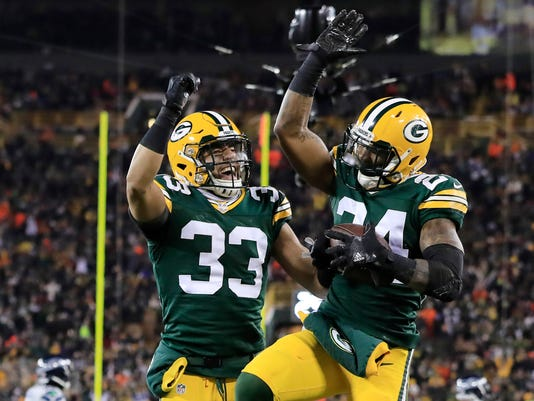USP NFL: SEATTLE SEAHAWKS AT GREEN BAY PACKERS S FBN USA WS