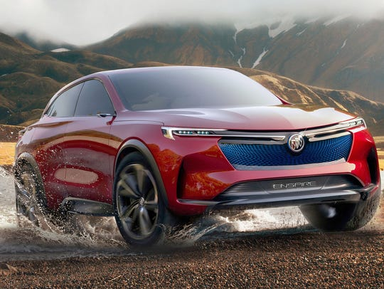 Buick Enspire all-electric Concept SUV