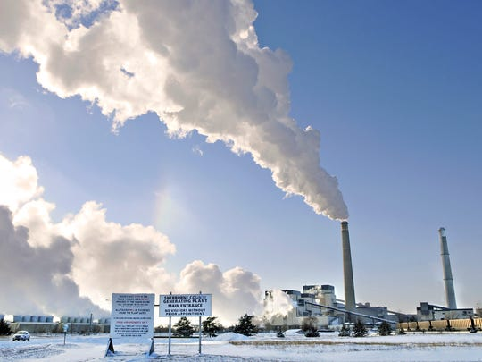 The Sherco power plan in Becker produces electricity in this December 2013 file photo.