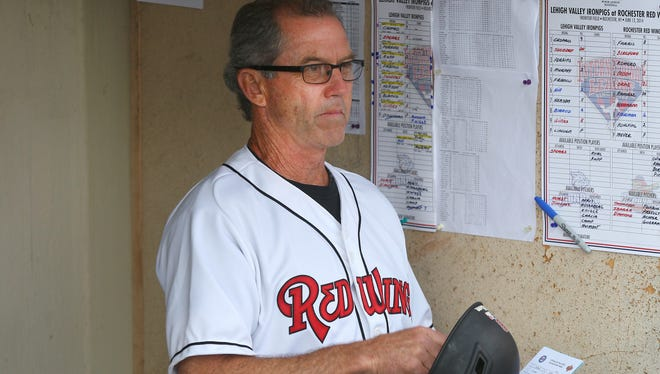 Wings manager Gene Glynn