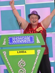 "A contestant competes on ""The Price is Right Live."""