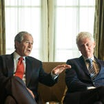 President George W. Bush on 2016, President Clinton and leadership