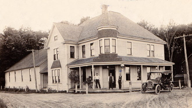 The Lakeshore Hotel in Erdman on Hwy 141 north of Sheboygan. It was built in 1891 and burned down in 1967.