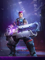 Blizzard is bringing in the big guns with the addition of Overwatch's Zarya to Heroes of the Storm.