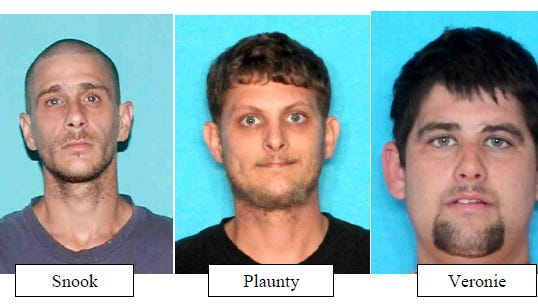 The Scott Police arrest three in a hit and run