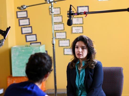 Rosalinda Natividad shared the story of the birth of
