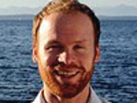 Jesse Burns is a candidate for the Bainbridge Island