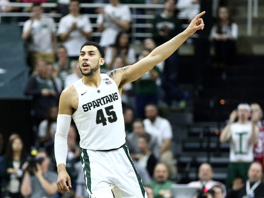 Denzel Valentine's stats have been astounding this season.