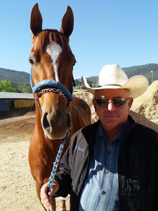 Trainer John Stinebaugh