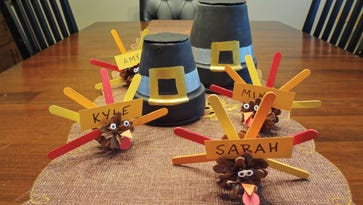 An easy Thanksgiving craft for kids