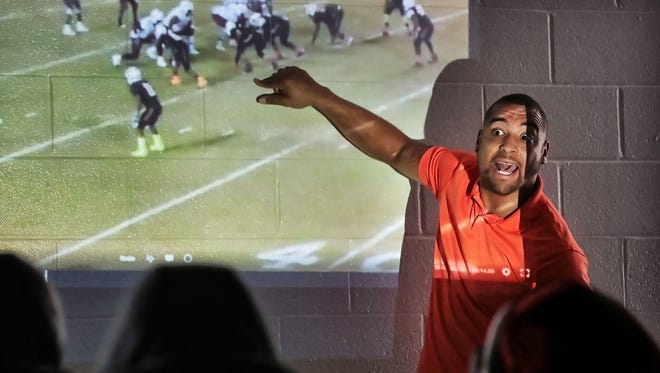 At just 26 years old, Gene Robinson has brought youthful fire to Fairley's football program.