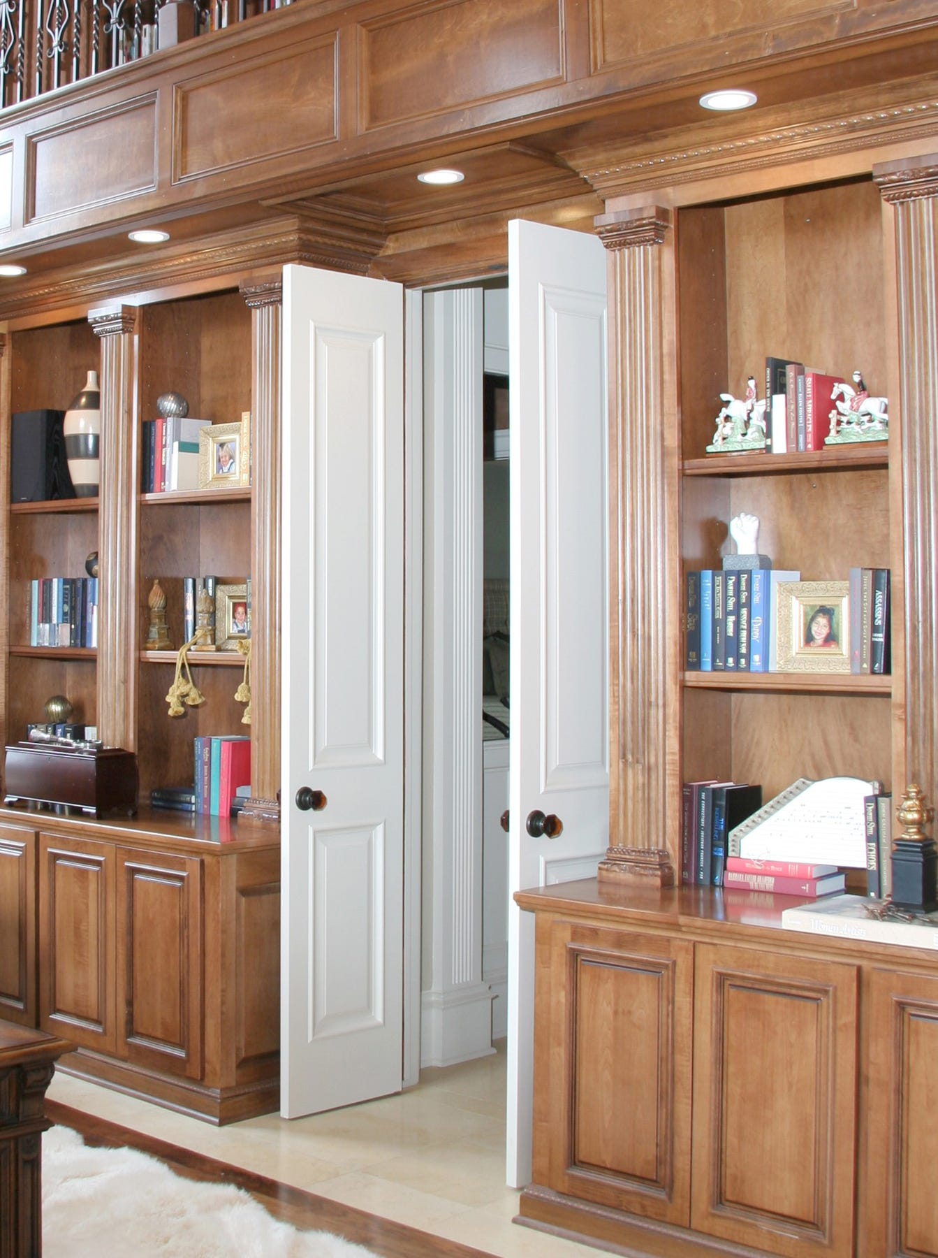 Small Spaces Save space with doors