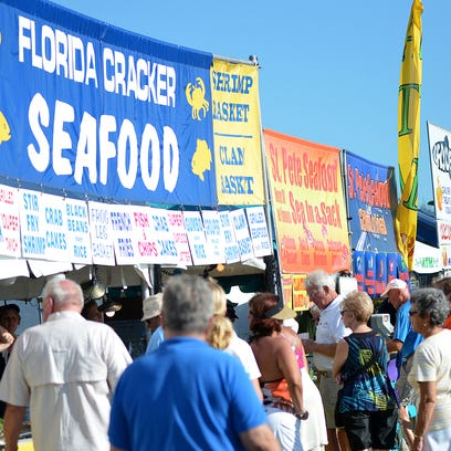 Marco Island Seafood and Music Festival gets underway Friday at Veteran's Park