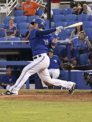 Former Appleton West baseball player Danny Jansen is a top catching prospect in the Toronto Blue Jays farm system. Injuries have slowed his goal of reaching the major leagues.