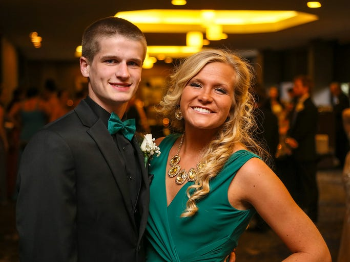 Students from Roxbury High School attended their prom at the Parsippany Hilton on Friday, May 30, 2014. Parsippany, NJ.