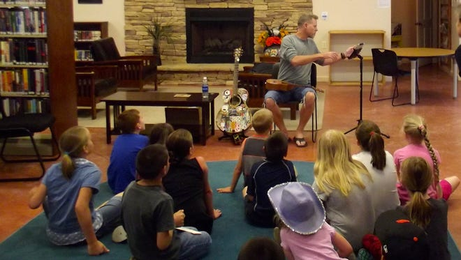 Capitan Public Library began its Summer Reading Program June 6. It will continue through July.