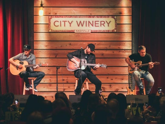 Chris Young played a private show for this fan club