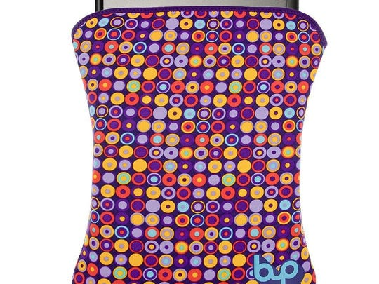 "BYO's neoprene sleeves can fit a variety of tablets and laptops and offer a soft inner lining and stretchy outer ""wetsuit"" skin in several colors and designs."