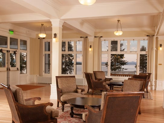 The Lake Hotel in Yellowstone National Park