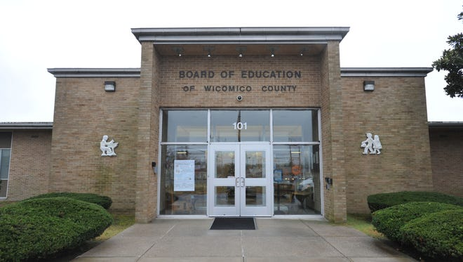 The Wicomico County Board of Education building.