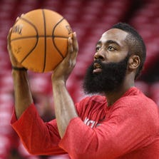 Rockets guard James Harden says he's the best basketball player alive.
