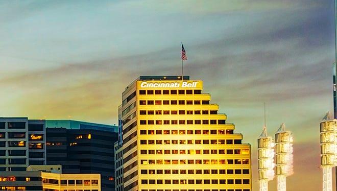 Cincinnati Bell is based Downtown.