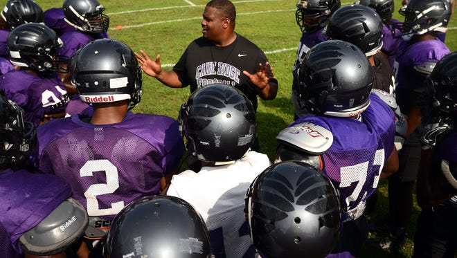 Cane Ridge's Eddie Woods is the 2017 Tennessee high school football coach of the year.