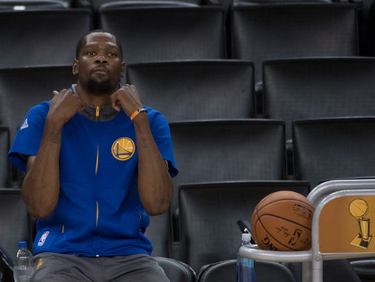 Kevin Durant has ignored the catcalls of frontrunner