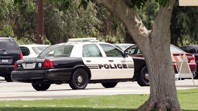 A Coachella police cruiser.