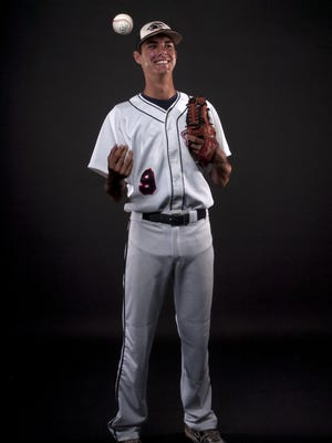 Kyle Miller All Area baseball player of the year. Estero High School.