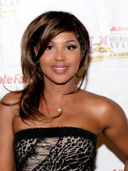 Singer Toni Braxton in July 2016 in Las Vegas, Nevada.