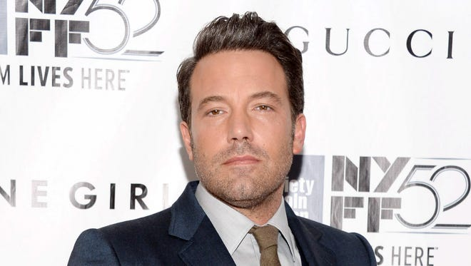"Ben Affleck at the New York premiere of ""Gone Girl"" in September."