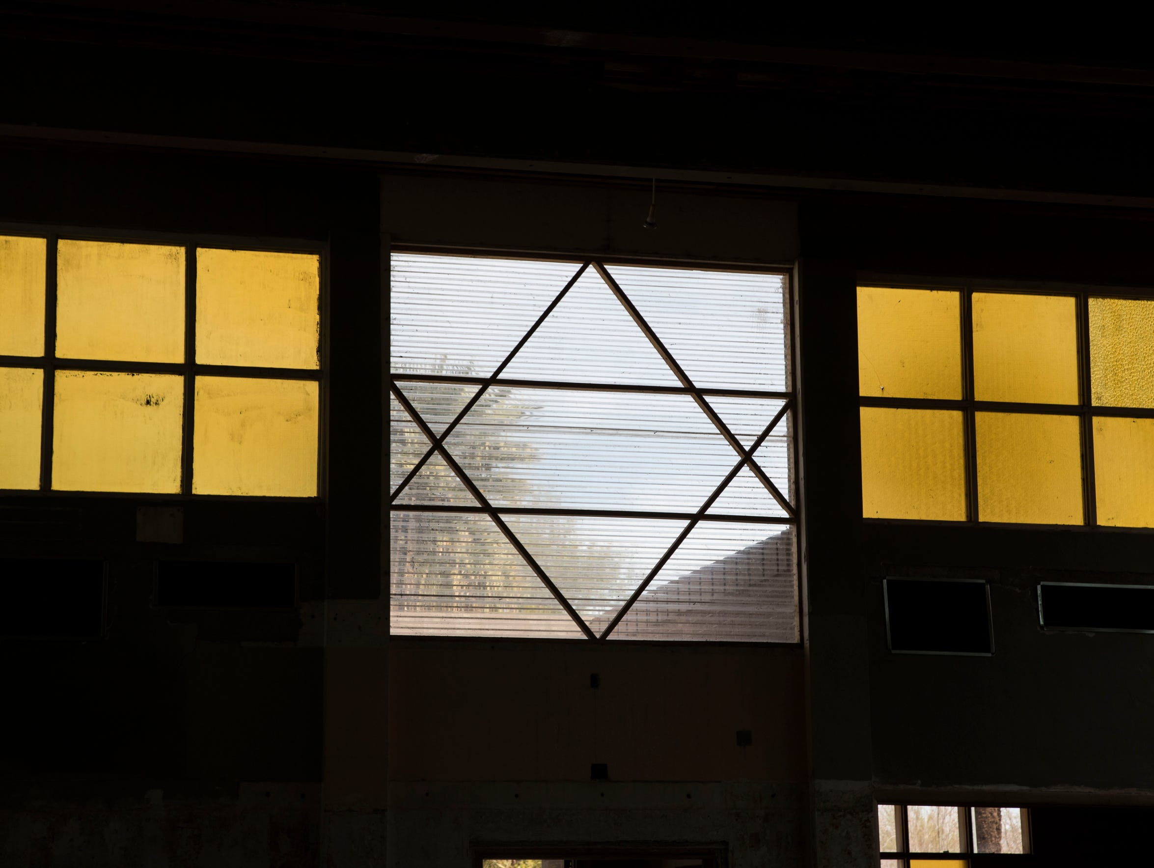 Richard Loewy visits the site of Beth Hebrew Synagogue,