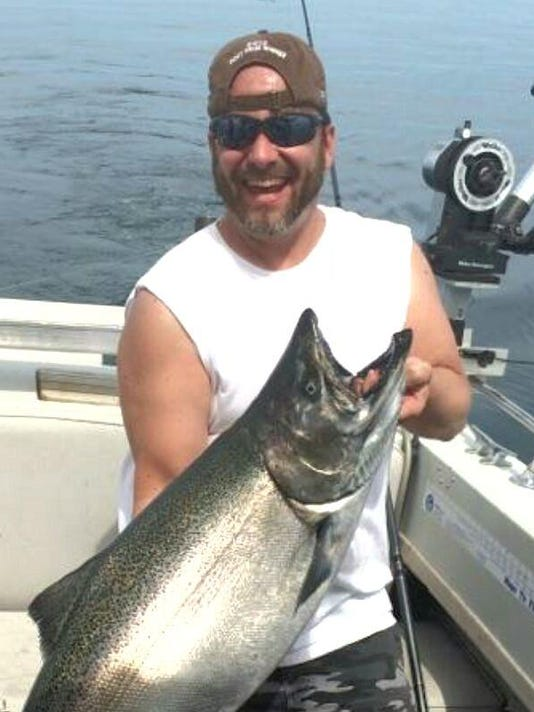This salmon catch was 'jaw-dropping amazing'