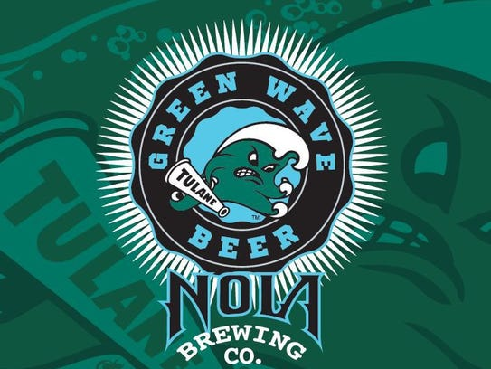 Green Wave Beer, Tulane University, NOLA Brewing Co.,
