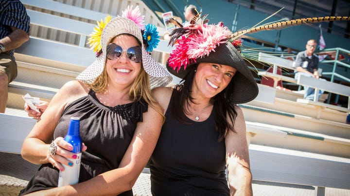 Kentucky Derby party at Turf Paradise in Phoenix