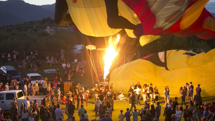 Photos: Cave Creek Balloon Festival 2015