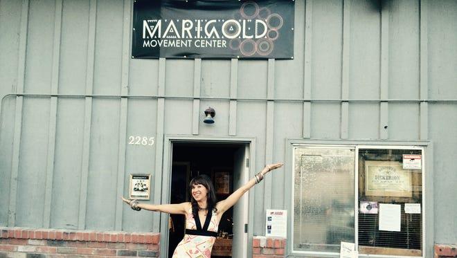 Marigold Movement Center, Reno's first world dance school at 2285 Dickerson Road.