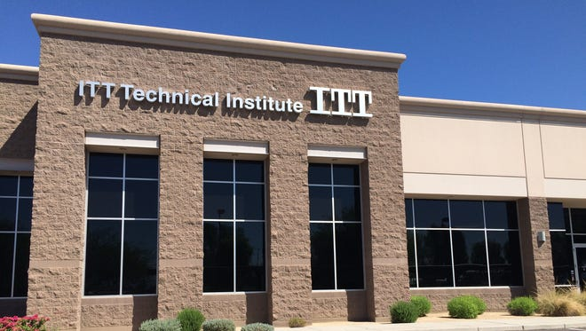 ITT Technical Institute was closed in Phoenix after a nationwide shutdown of the school Tuesday, Sept. 6, 2016.
