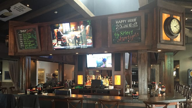 The renovated bar area inside Murphy's Law new Penfield location on Empire Boulevard.